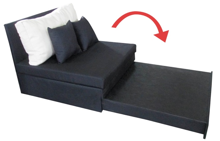 Schlafsessel Schwarz Sessel Bett Sofa G Stebett Bettsessel Schlafsofa Neu Ebay