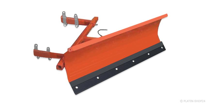 Universal Schneeschild Schneefräse Schneeschieber 100cm Rasentraktor Quad ATV
